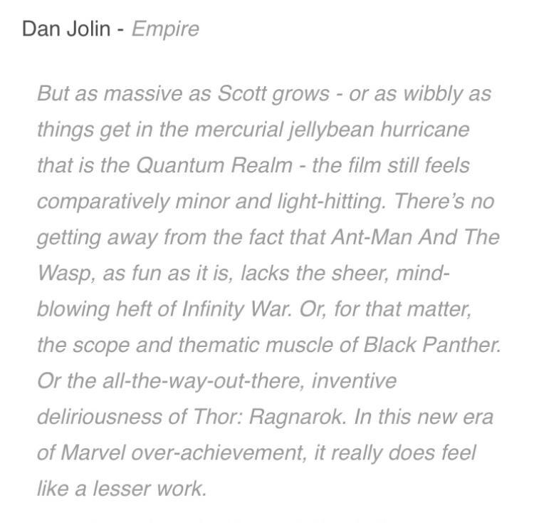 Review nhanh 'Ant-Man and The Wasp': Hài hước, gây cấn, xoa dịu nỗi đau từ Infinity War