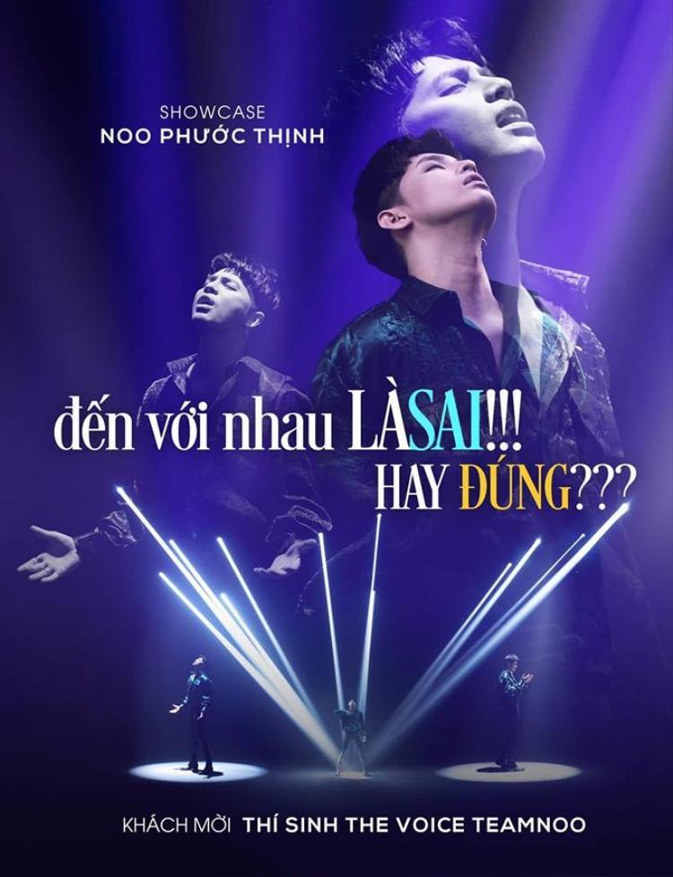 Sự kiện cùng ngày sẽ diễn ra tối 28/6 của Noo Phước Thịnh.