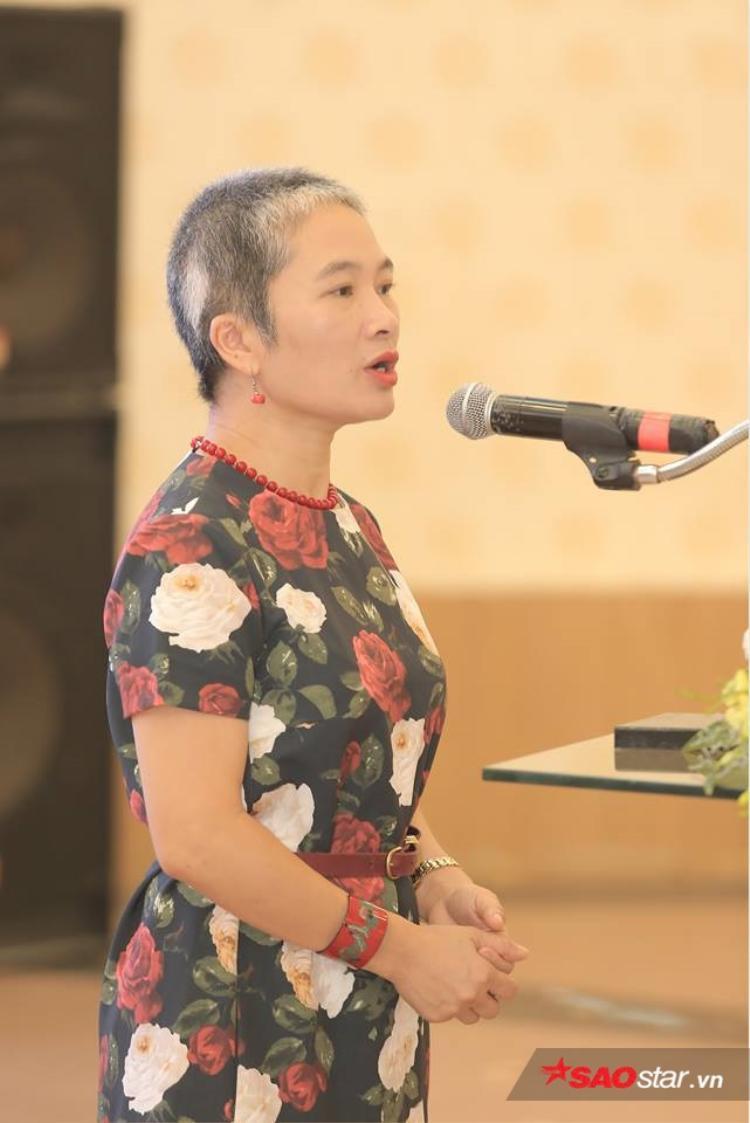 Bà Khuất Thị Hải Oanh, giám đốc SCDI.
