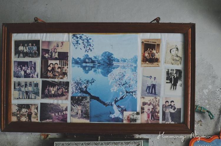 Những bức ảnh kỷ niệm của ông và bà