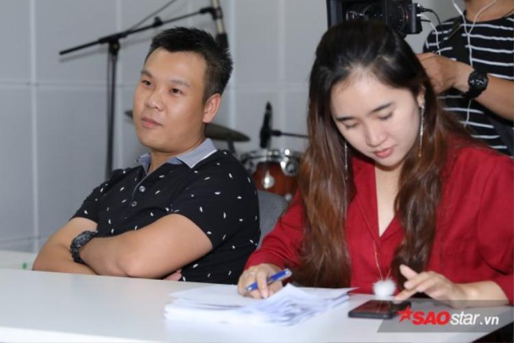 Nhà sản xuất âm nhạc Long Halo là một trong những vị giám khảo tham gia vào buổi mở màn vòng casting, anh đã có nhữngchia sẻ và kinh nghiệm bổ ích để các thí sinh thêm phần tự tin.