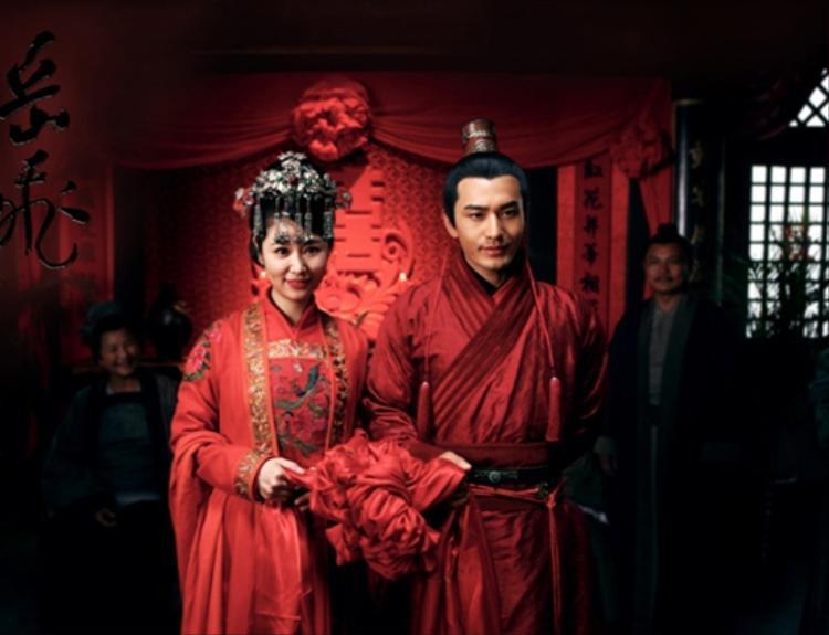 Lâm Tâm Như hóa người vợ hiền của Nhạc Phi tướng quân - Huỳnh Hiểu Minh trong Tình trung Nhạc Phi