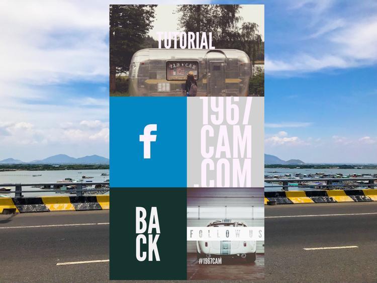 Tại mục mở rộng, người dùng có thể xem lại hướng dẫn sử dụng ứng dụng bằng cách chọn Tutorial hoặc truy cập liên kết Facebook, Instagram và Website của ứng dụng.