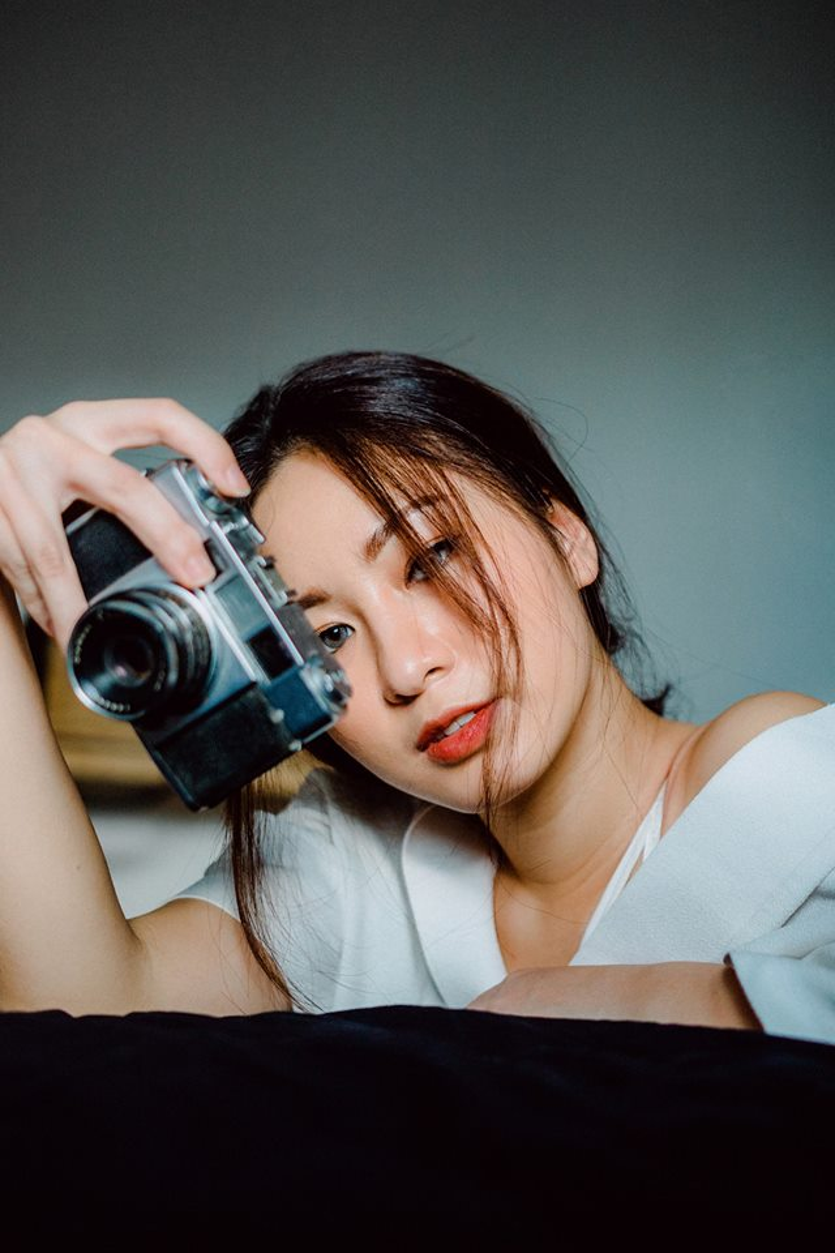 Cô bạn Thủ khoa Nhiếp ảnh xinh đẹp Đỗ Thúy Vy.