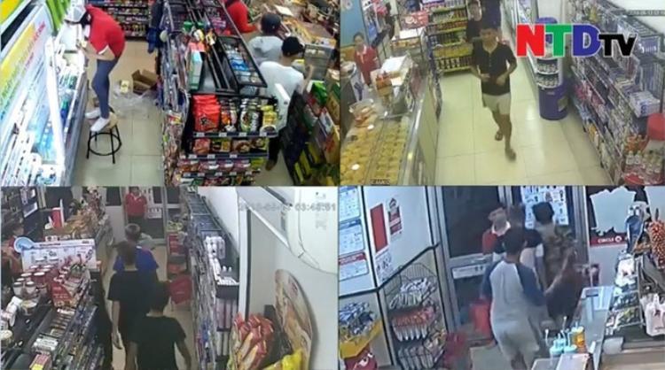 Nhóm đạo tặc cướp các cửa hàng táo tợn