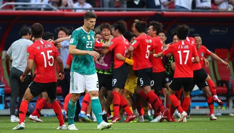 Hàn Quốc có chiến thắng lịch sử trước Đức ở lượt trận cuối và kéo theo nhà đương kim vô địch về nước. Ảnh: FIFA
