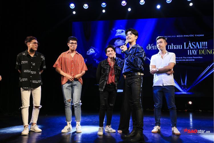 Showcase có sự tham gia của các thí sinh The Voice 2017, Đỗ Phương Thảo (The Voice 2018) và bé Tuấn Ngọc (The Voice 2016).
