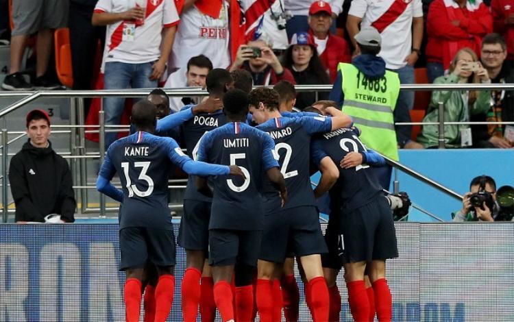 Đội hình ĐT Pháp được đánh giá nhỉnh hơn so với Argentina. Ảnh: Fifa.com.
