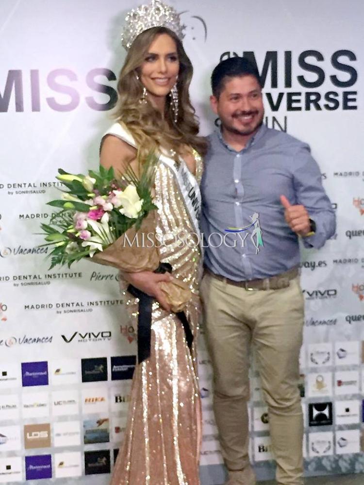 Tối 29/6 theo giờ địa phương, chung kết Miss Universe Spain - Hoa hậu Hoàn vũ Tây Ban Nha 2018 đã tìm được chủ nhân. Theo đó người đẹp chuyển giớiAngela Ponce đã xuất sắc giành vương miện năm nay.Đây là năm thứ 6 Tây Ban Nha tổ chức cuộc thi sắc đẹp Hoa hậu Hoàn vũ.