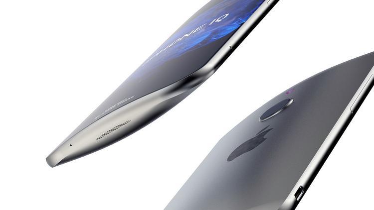 Cạnh trên và cạnh dưới của iPhone IQ đều không có cổng kết nối hay jack cắm nào.