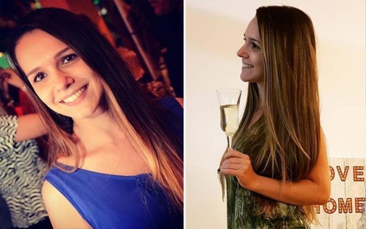 Tamra Maiochi tử vong khi bị mảnh thủy tinh cứa trúng tĩnh mạch khi ăn mừng chiến thắng của đội tuyển Brazil. Ảnh: The Sun
