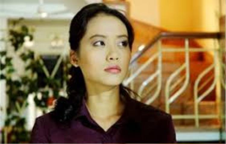 """Hồng Ánh trong phim """"Cầu thang tối""""."""