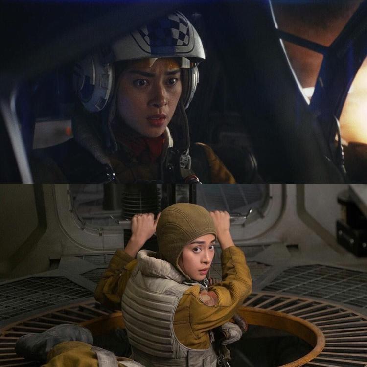 """Ngô Thanh Vân trong """"Starwar: The last Jedi"""""""