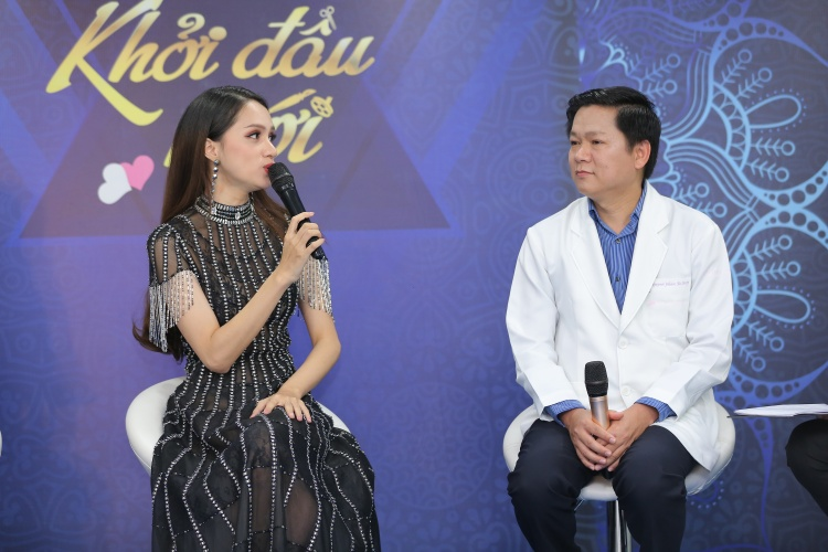 Hương Giang ủng hộ những người tìm đến phẫu thuật thẩm mỹ với mong ước cải thiện cuộc sống.