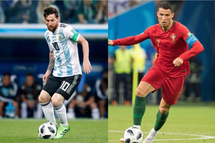 Messi (trái) và Ronaldo phải về nước sớm. Ảnh: Getty.