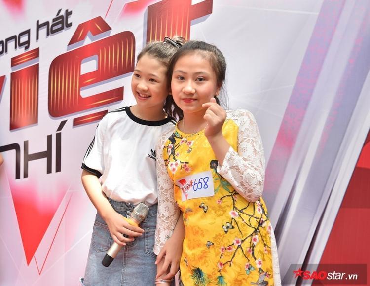 Quán quân Ngọc Ánh cùng dàn thí sinh cũ đổ bộ vòng casting đợt 2 The Voice Kid 2018