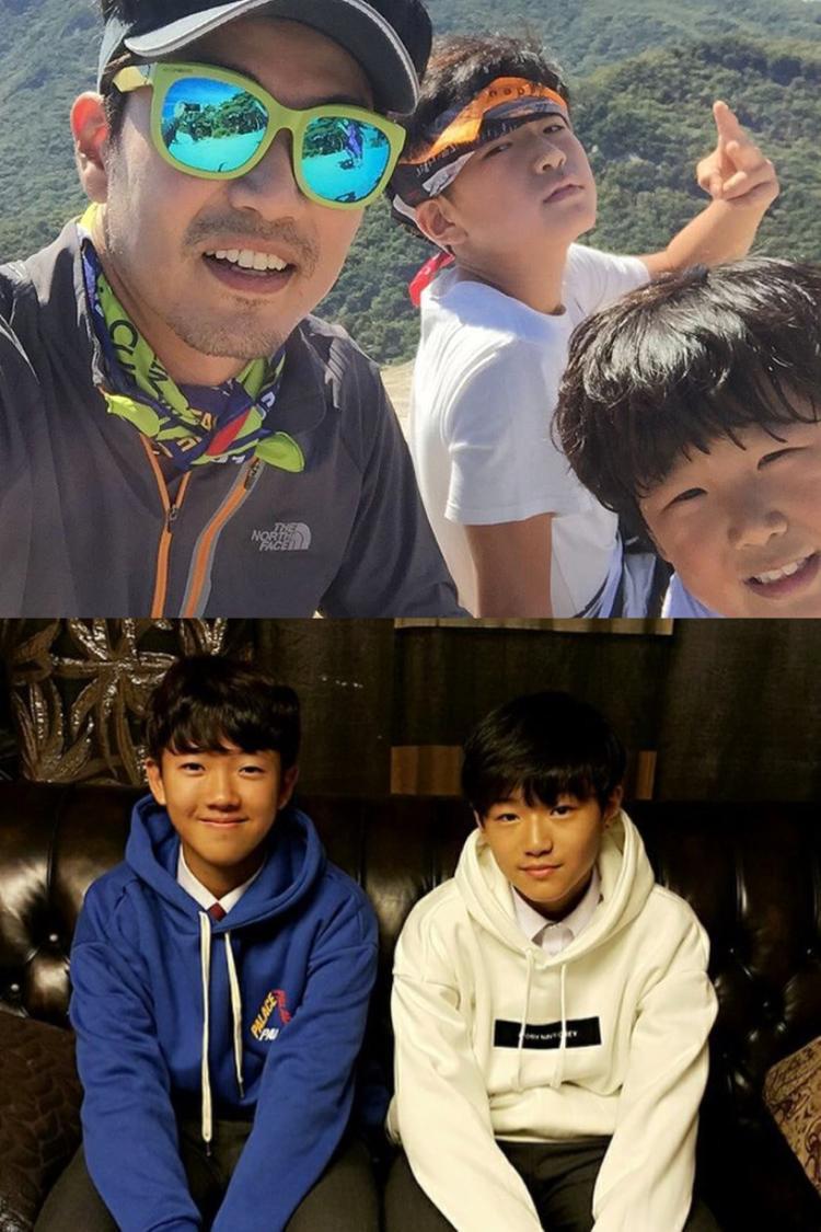 """Hai cậu nhóc Lee Joon Soo và Lee Tak Soo chính là con của diễn viên Lee Jong Hyuk. Anh và Joon Soo từng tham gia chương trình """"Bố ơi mình đi đâu thế?""""."""