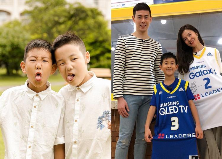Gia đình nhỏ của diễn viên Kim Sung Eun.