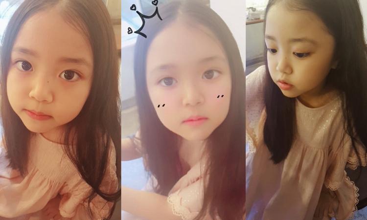 Cô bé đáng yêu Baek Seo Woo, con gái của Si Ah Jeong.