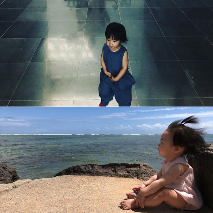 Con gái của Shin Sung Rok, nam diễn viên được biết đến với những vai phản diện.