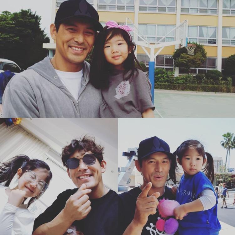 """Diễn viên Oh Ji Ho của bộ phim truyền hình nổi tiếng """"Săn nô lệ"""" cùng con gái Oh Seo Heun."""