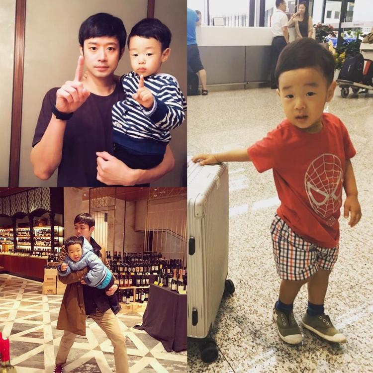 """Bé Chun Dae Woong, con của Jun Jung Myung. Anh được nhiều người biết đến với vai nam chính trong """"Chị kế của lọ lem""""."""