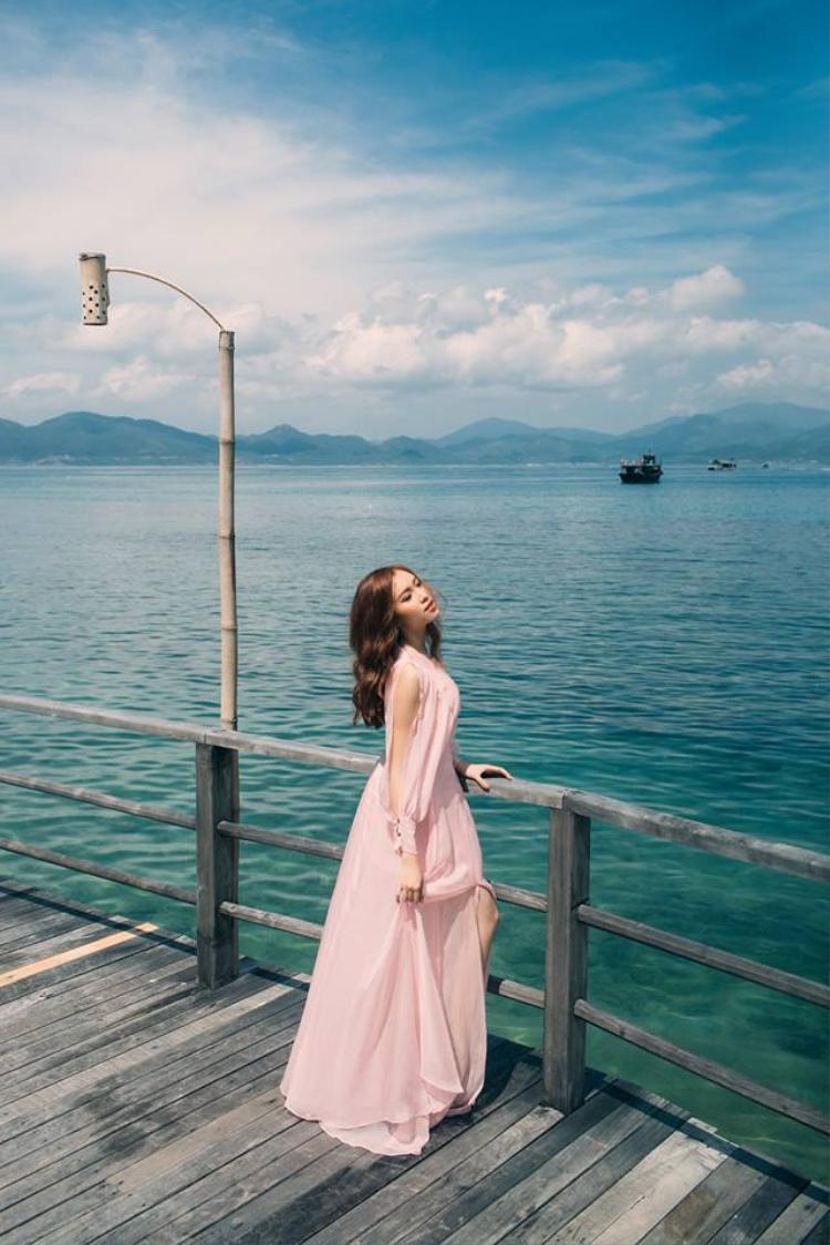 2015, cô ghi danh thi Hoa hậu Hoàn vũ Việt Nam và lọt top 15 chung cuộc.