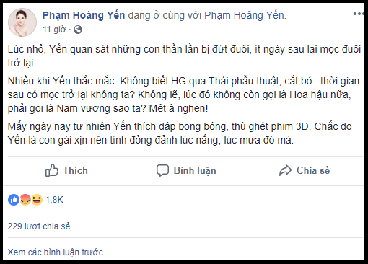 Doanh nhân chuyển giới Tú Lơ Khơ và cộng đồng LGBT đều giận dữ vì HH Hương Giang bị miệt thị giới tính