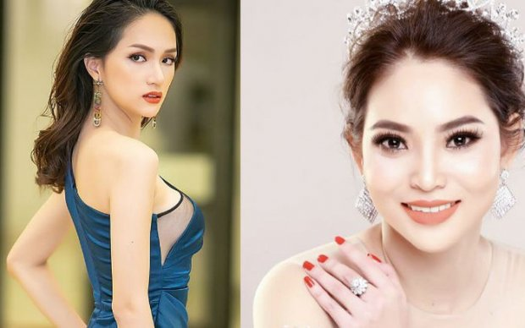 Á khôi doanh nhân Phạm Hoàng Yến (ảnh phải).