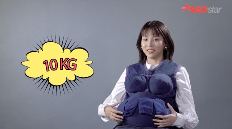 Phí Phương Anh  MLee: người nhăn nhó, kẻ toát mồ hôi khi lần đầu mang thai
