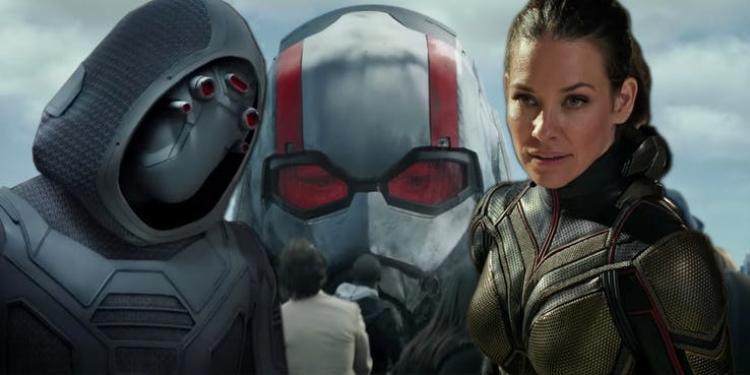 Ant-Man and the Wasp tung clip chiến đấu kịch tính giữa Ghost (Bóng ma) và Chiến binh Ong