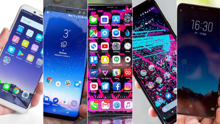 Những chiếc smartphone được đem bán, trao đổi lấy những dòng máy đời thấp hơn hầu hết còn khá mới.