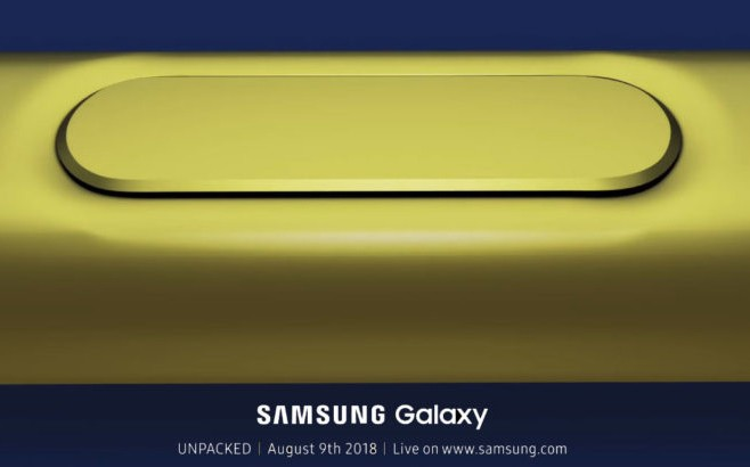 Hình ảnh bút S-Pen xuất hiện trên thư mời sự kiện Samsung UNPACKED.