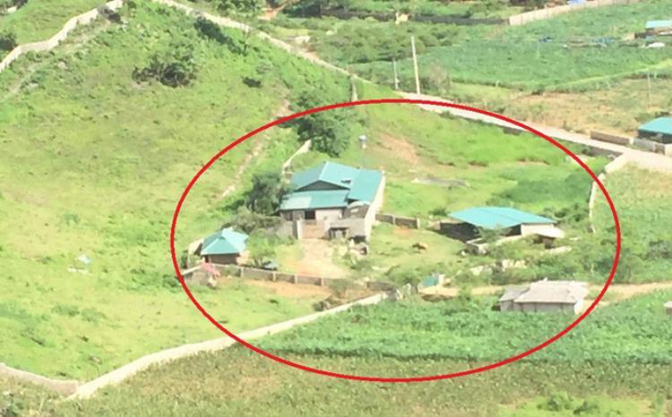 """Nhà của """"ông trùm"""" Thuận. Ảnh: VTC News"""