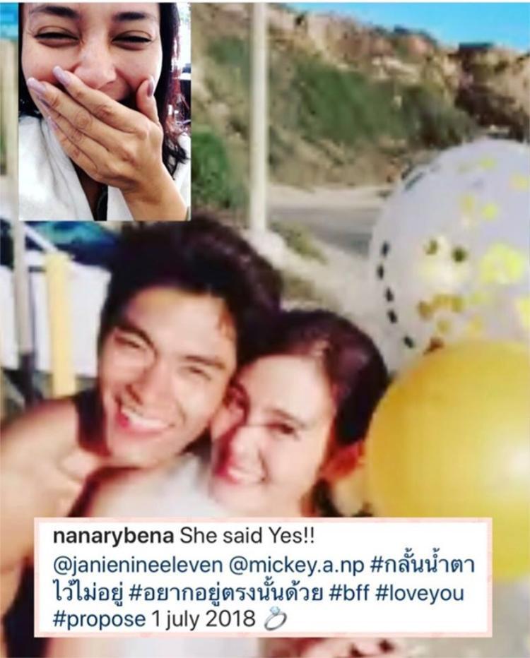 Sau 4 năm ly hôn chồng tỷ phú, mỹ nhân thị phi nhất Thái Lan bất ngờ được bạn trai kém 10 tuổi cầu hôn