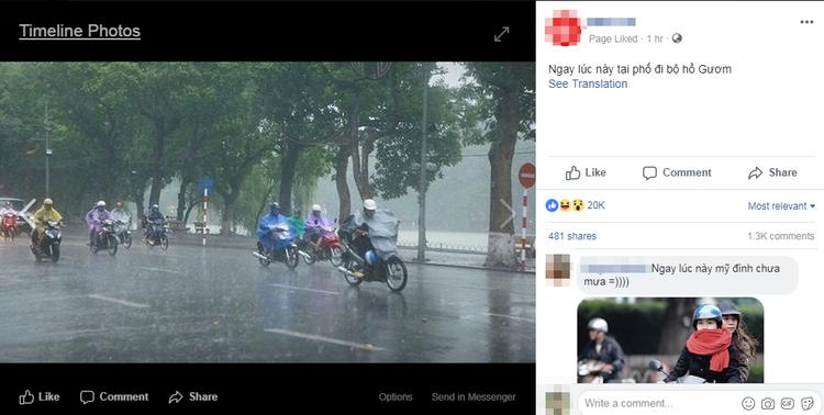 Từ ý tưởng của một người, nó đã nhanh chóng trở thành hiệu ứng. Bức ảnh share trên một trang mạng xã hội nhanh chóng đạt hơn 20.000 lượt thích chỉ trong vòng 1h.