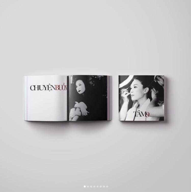 Cuồng album theo style fan Mỹ Tâm: Thiết kế hẳn phiên bản cassette cho Tâm 9