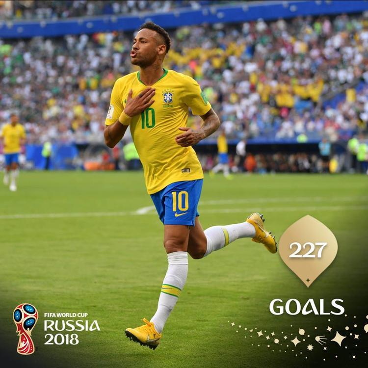 Neymar lập công cho Brazil. Ảnh: FIFA