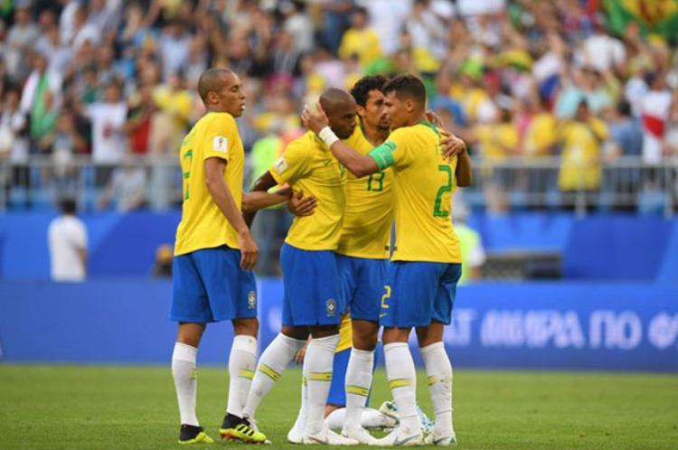 Brazil đã giành quyền vào tứ kết. Ảnh: getty.