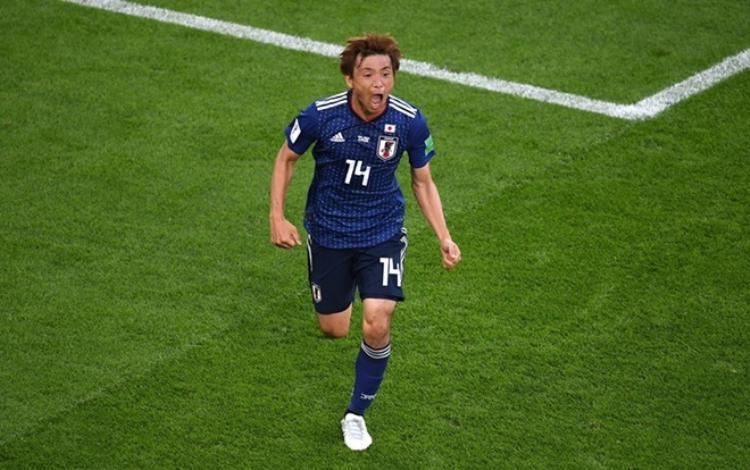 Nhật Bản liên tiếp tạo ra cú sốc khi dẫn Bỉ đến 2-0. Ảnh: FIFA
