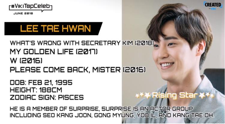 Lee Tae Hwan - ngôi sao mới nổi.
