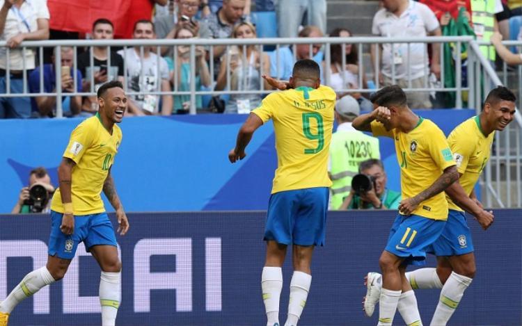 Neymar luôn biết cách tỏa sáng đúng lúc cùng ĐT Brazil. Ảnh: Fifa.com.
