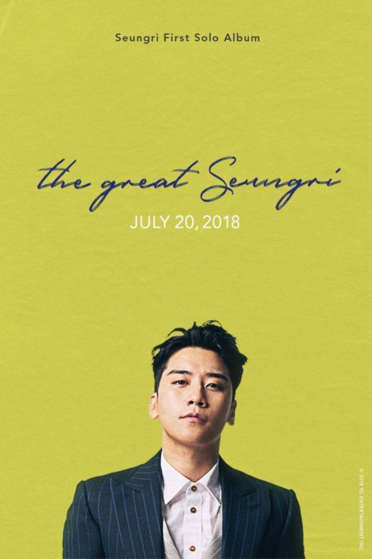 Hình ảnh Seungri trong full album đầu tay mới được công bố.