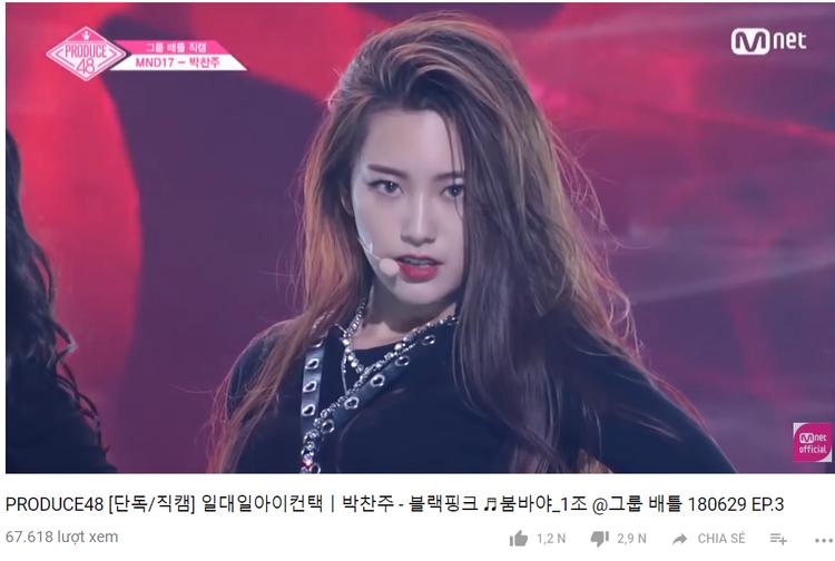 Không chỉ Chaejeong mà các thành viên còn lại trong nhóm của cô nàng cũng bị gạch đá thẳng tay.