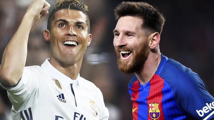 Hai siêu sao Ronaldo và Messi là tâm điểm của các trận cãi vã dẫn tới căng thẳng giữa một cặp vợ chồng ở Nga. Ảnh:Sky Sports