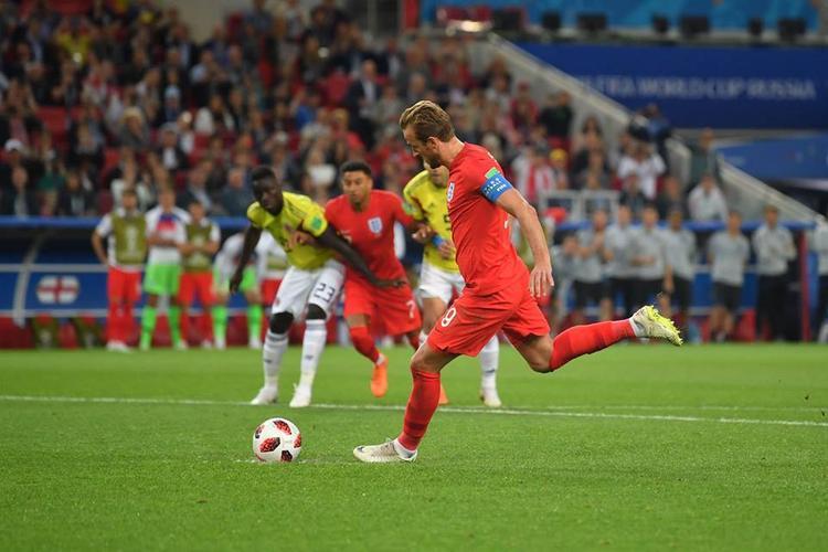 Harry Kane đá phạt đền ở phút 57. Ảnh: FIFA