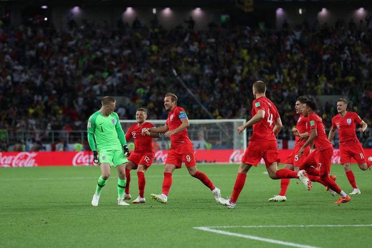 Tuyển Anh đã có chiến thắng trên chấm phạt đền. Ảnh: FIFA