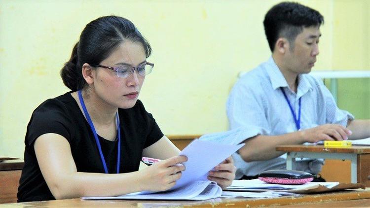 Môn Ngữ Văn năm nay có thí sinh có điểm liệt. Ảnh: Vietnamnet.