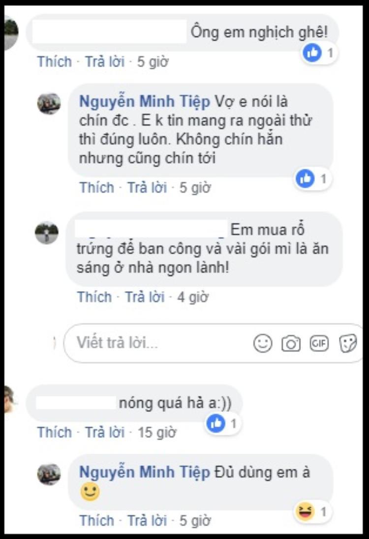 Diễn viên Minh Tiệp trổ tài rán trứng bằng nhiệt độ gần 50 độ C ở Hà Nội