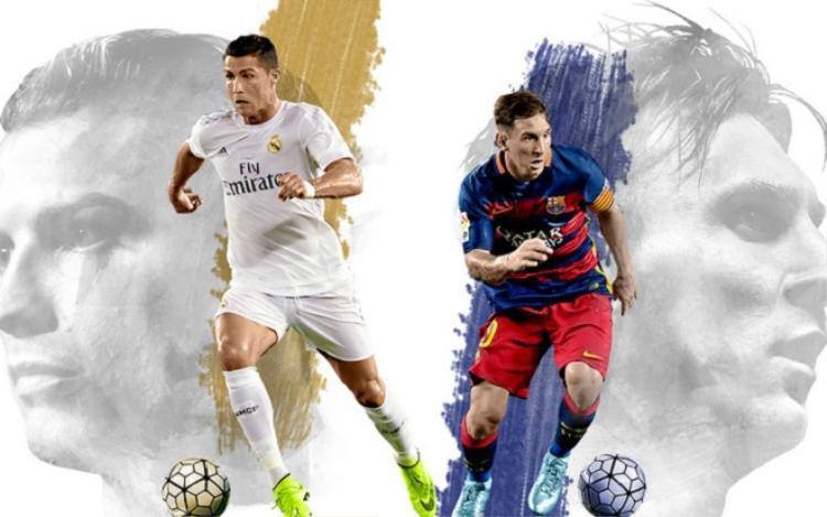 Ronaldo hay Messi thống trị làng bóng đá thế giới bằng yếu tố chuyên môn. Ảnh: Soha